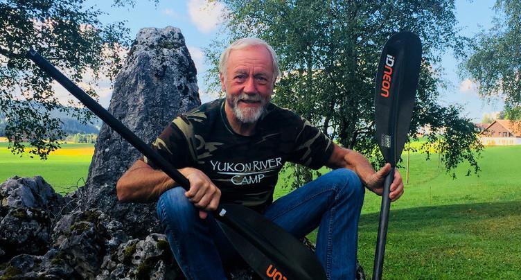 L'aventurier Jean-Philippe Patthey de retour après avoir traversé l'Alaska en kayak