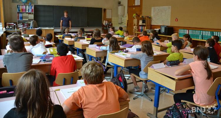 La sonnerie va retentir pour 8'066 écoliers jurassiens