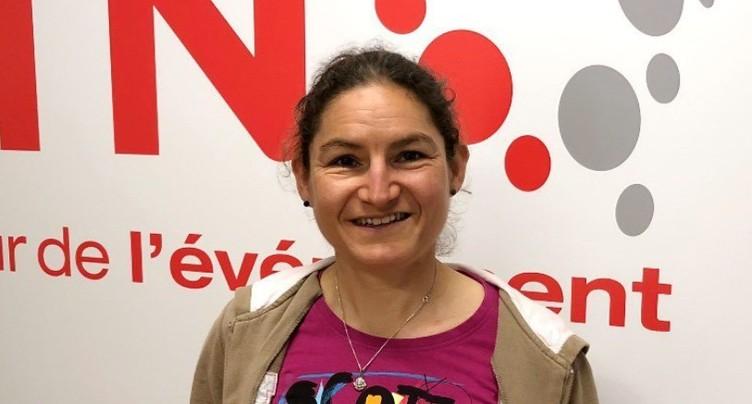 Florence Darbellay sur le podium du Grand Raid