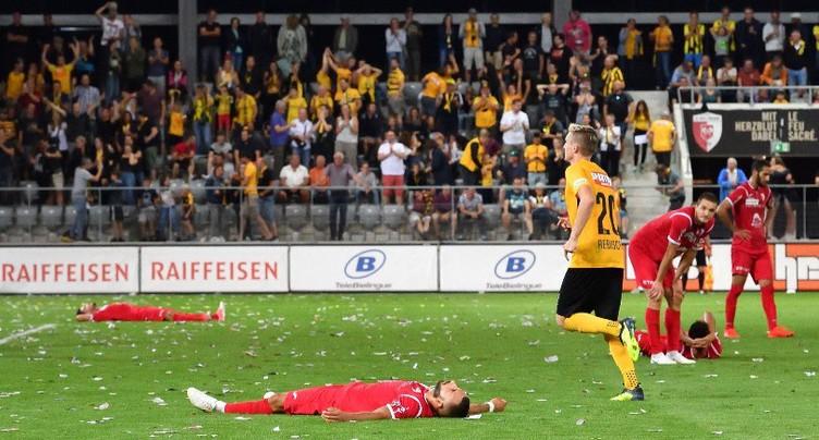 Le FC Bienne si près de l'exploit…