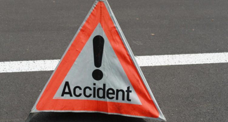 Accident de scooter à la Chaux-de-Fonds