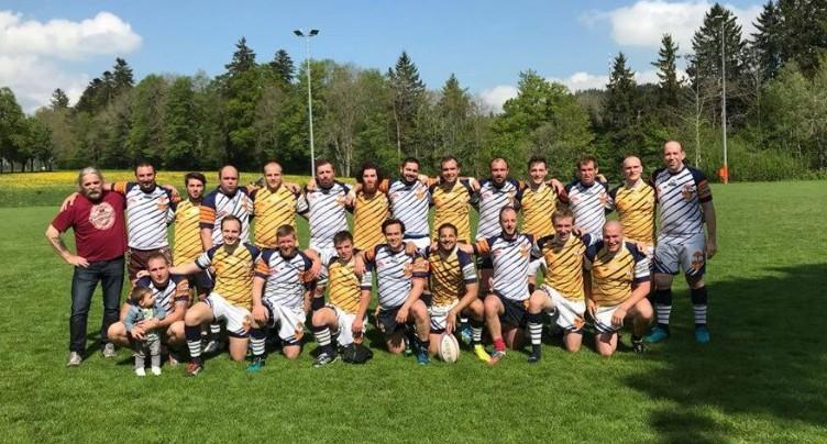Le Rugby club La Chaux-de-Fonds écrasant