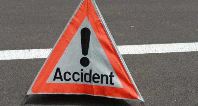 Accident de la circulation à Lajoux