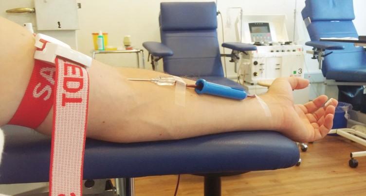 Don du sang à Nods