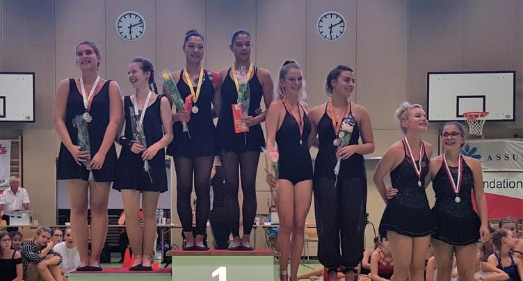 Des podiums à profusion pour les gymnastes jurassiennes