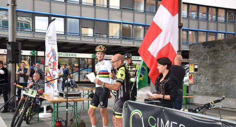 La Chaux-de-Fonds célèbre son double champion du monde