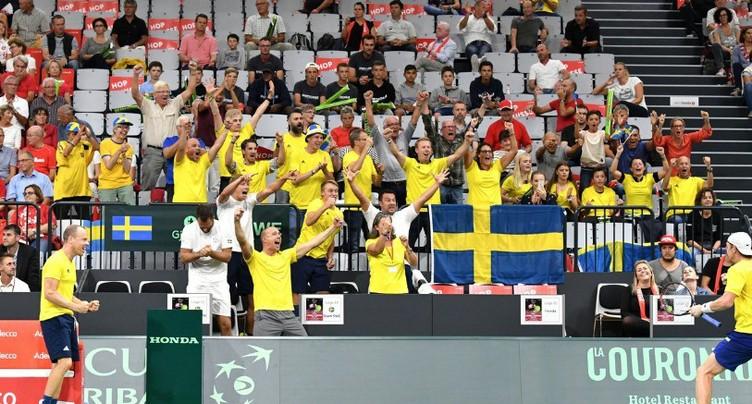 La Suisse à nouveau menée par la Suède
