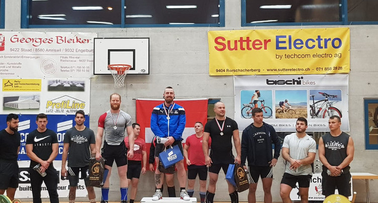 Yannick Tschan champion de Suisse élite d'haltérophilie
