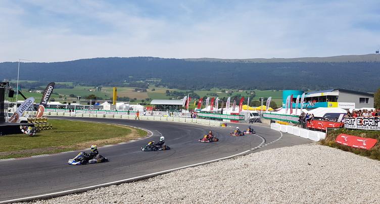 Les as du karting suisse à Lignières