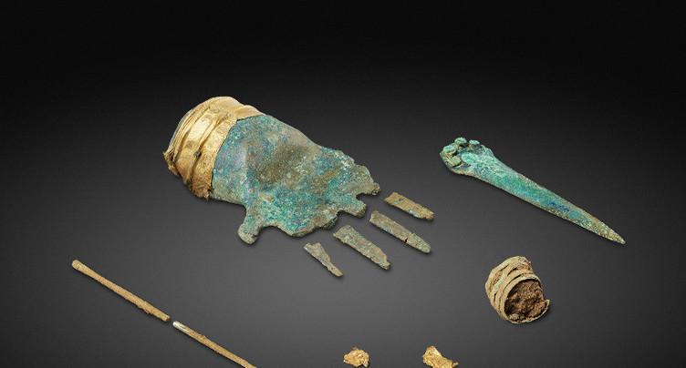 Découverte archéologique exceptionnelle à Prêles