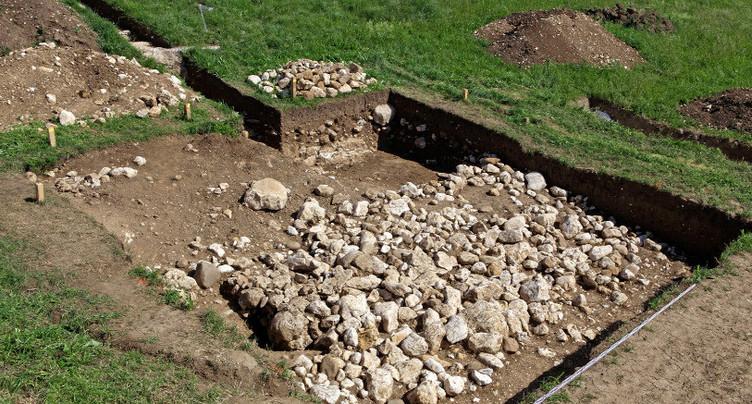 Site archéologique pillé à Prêles ?