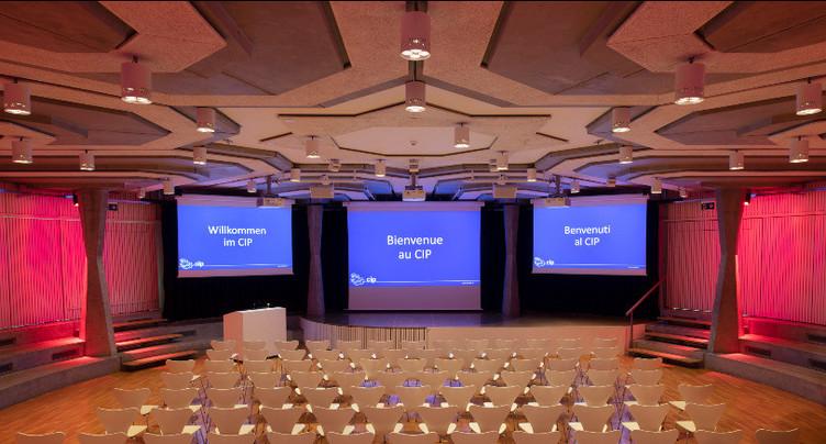 L'auditorium du CIP fait peau neuve