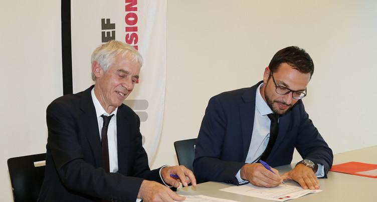 Le Jura et l'EPFL renouvellent leur collaboration