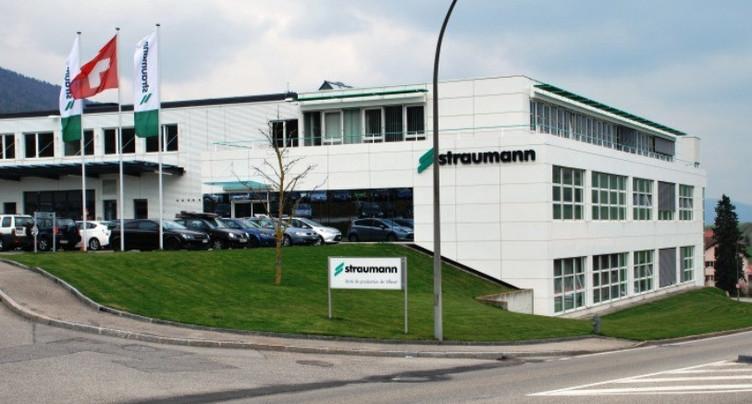 Bénéfice net en repli pour Straumann