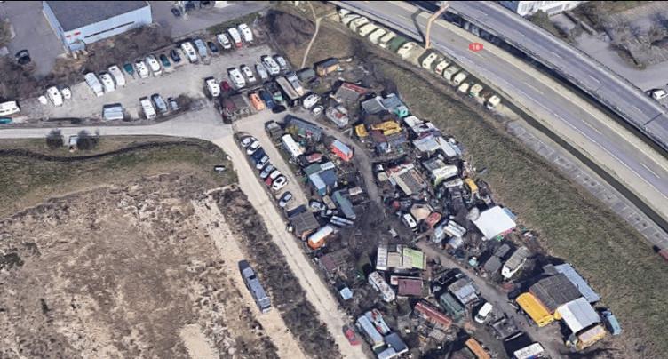 Bienne : le « Schrottbar » doit à nouveau déménager