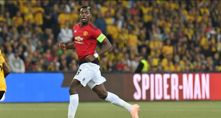 Paul Pogba bourreau de Young Boys