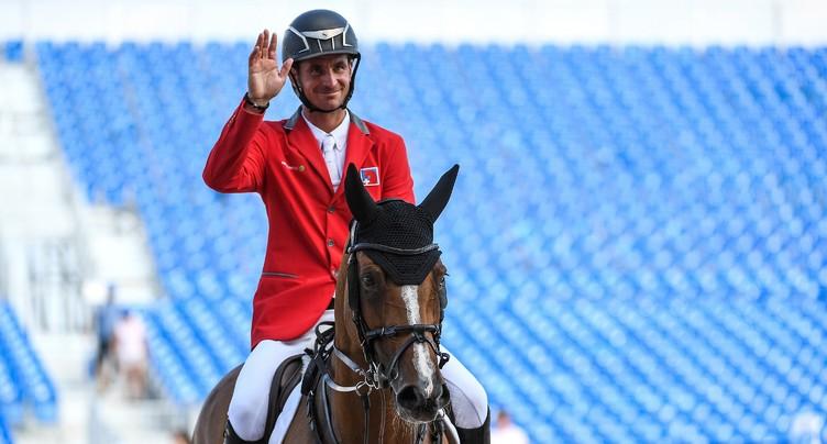 Steve Guerdat en tête aux Jeux équestres mondiaux