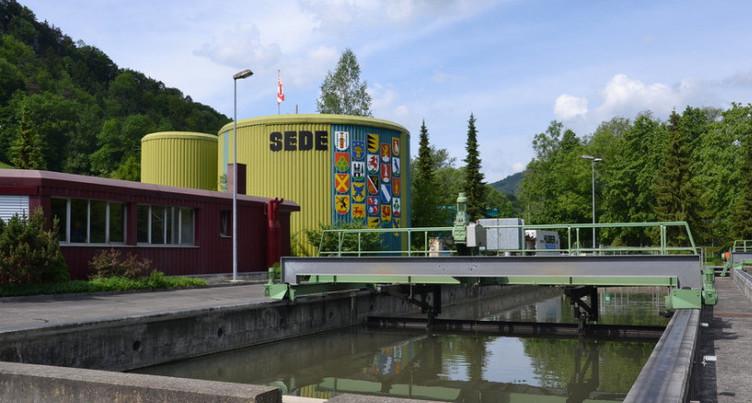 Un projet pour protéger la STEP des inondations
