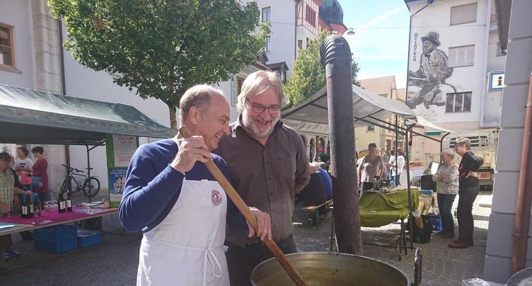 A la recherche de la meilleure soupe à Moutier
