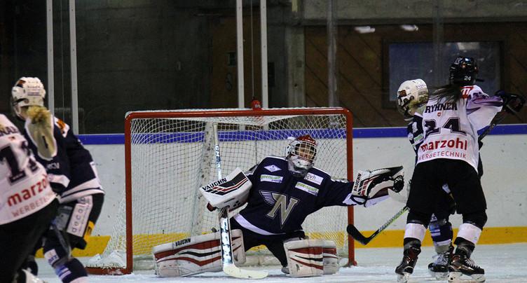 Lourde défaite pour Neuchâtel Hockey Academy