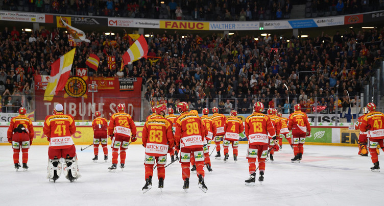 Troisième victoire de rang du HC Bienne