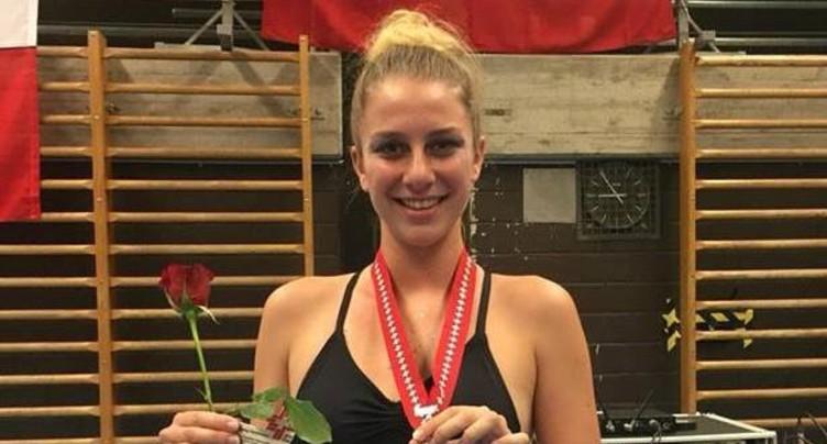 Léa Jeambrun vice-championne nationale