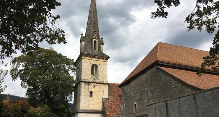 Crédit accepté pour la rénovation de l'église de Môtiers