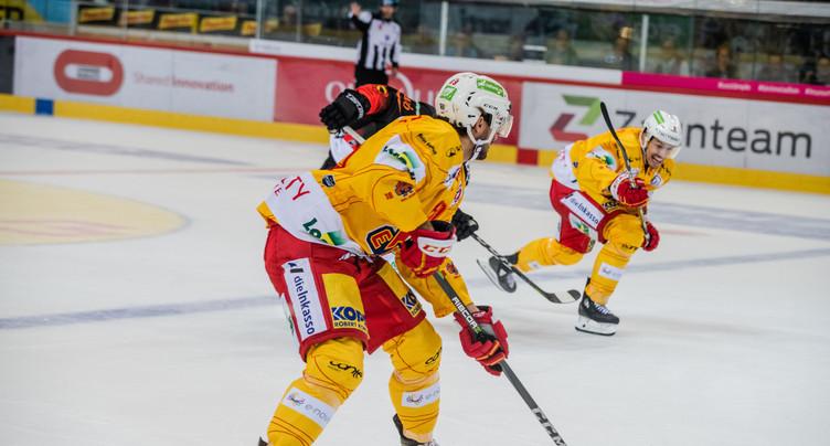 Le HC Bienne perd deux points