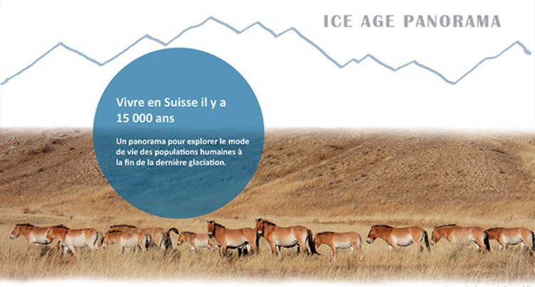 Comment vivait-on en Suisse il y a 15'000 ans?