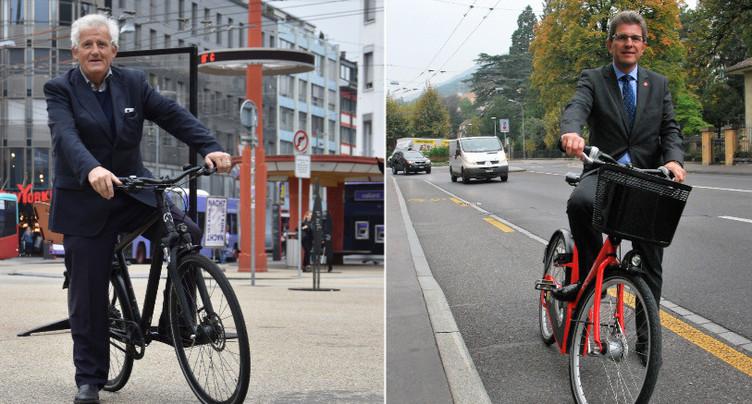 Des maires en deux roues
