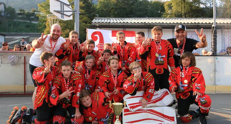 Les Louveteaux champions de Suisse