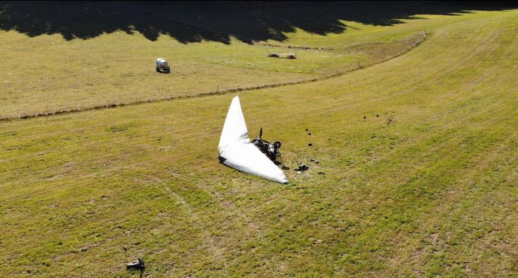 Un accident d'ULM fait deux blessés au Prédame