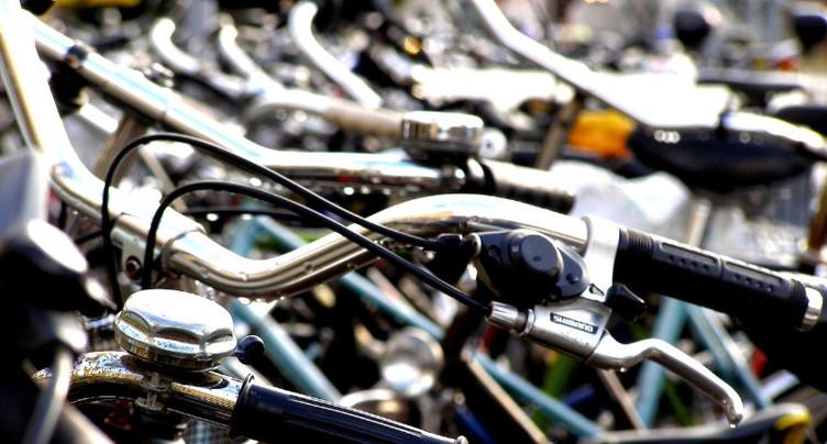 Jusqu'à 600 vélos volés chaque année à Bienne