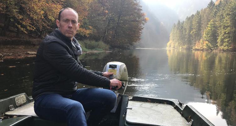 Le Doubs coule toujours en Suisse