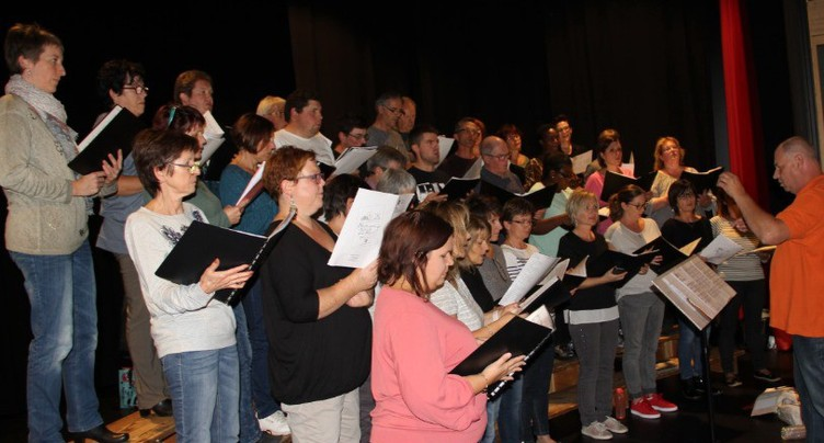 Bientôt le grand jour pour la chorale Val Terbi en cœur