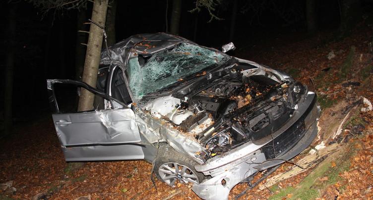Un accident de la route fait quatre blessés