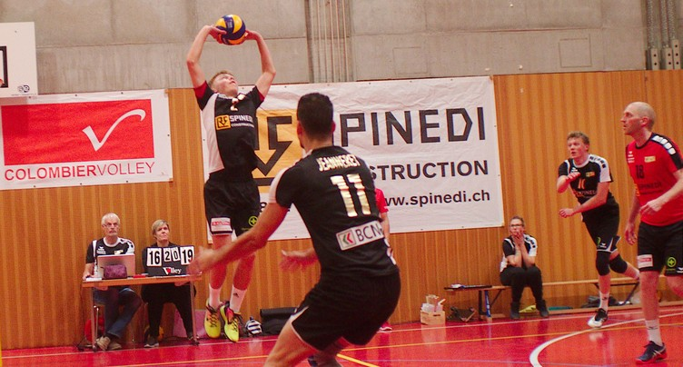 Colombier Volley ne tremble pas