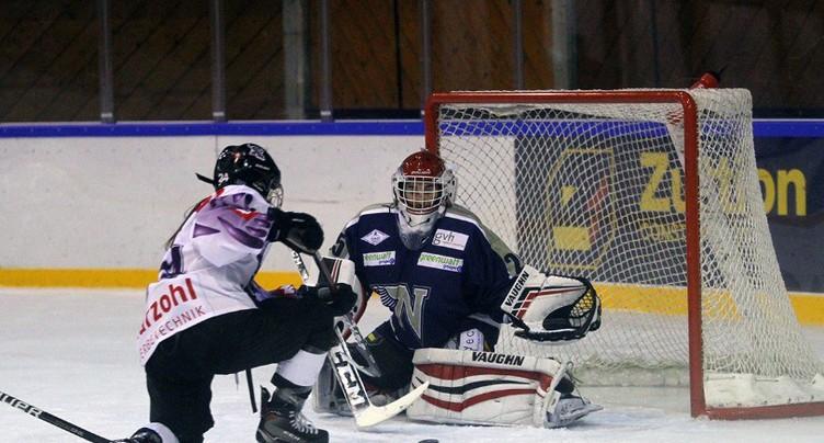 Défaite sur le fil de la Neuchâtel Hockey Academy