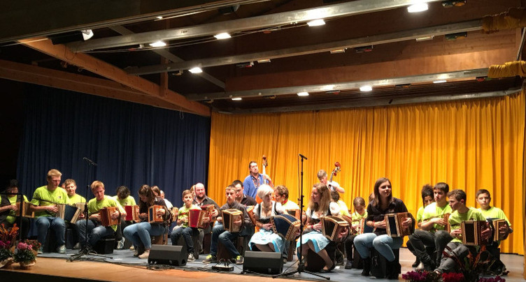 La musique folklorique de retour à Reconvilier
