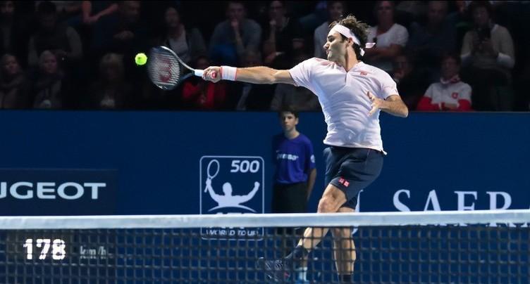 Federer monte en puissance et file en quart