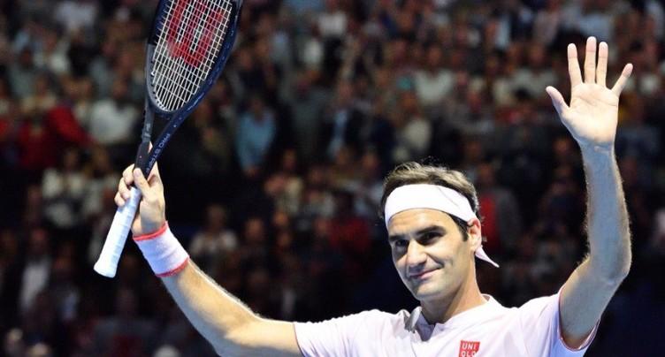 Pas de problème pour Roger Federer
