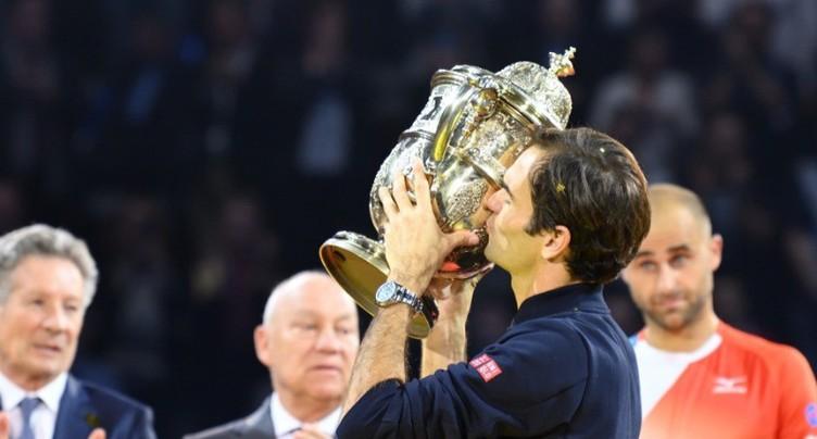 Federer s'offre une 9e couronne après un gros combat