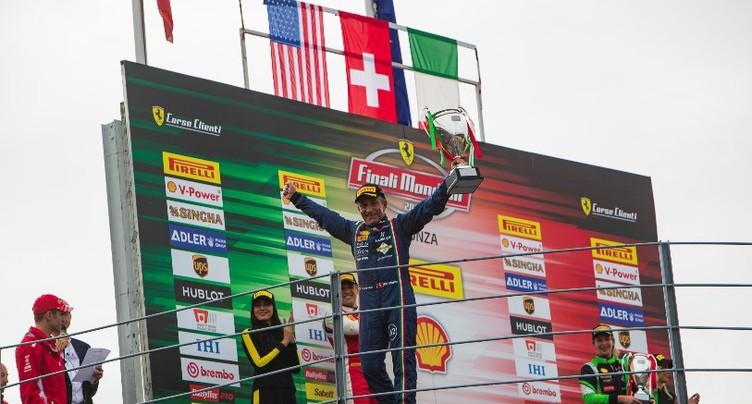Christophe Hurni champion d'Europe et du monde en Ferrari