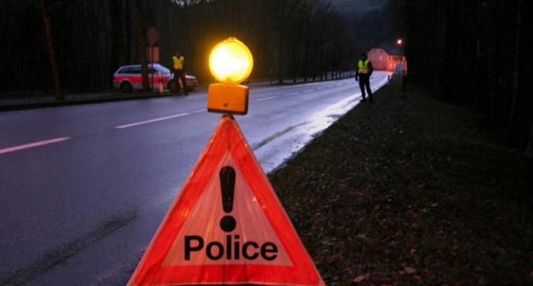 Accident de la circulation entre La Roche et Glovelier