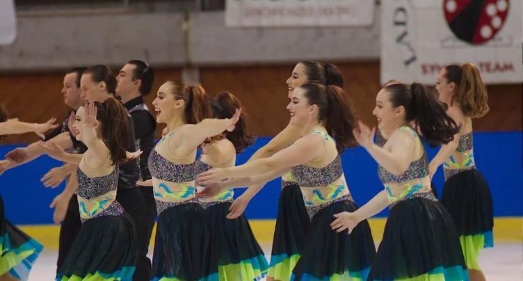 Neuchâtel capitale mondiale du patinage synchronisé