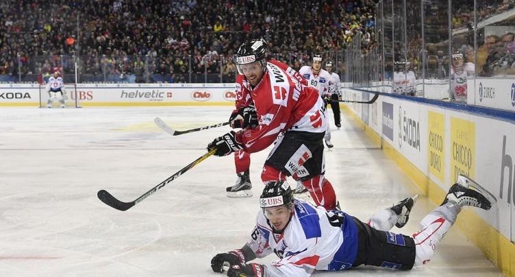 La Suisse bat la Slovaquie