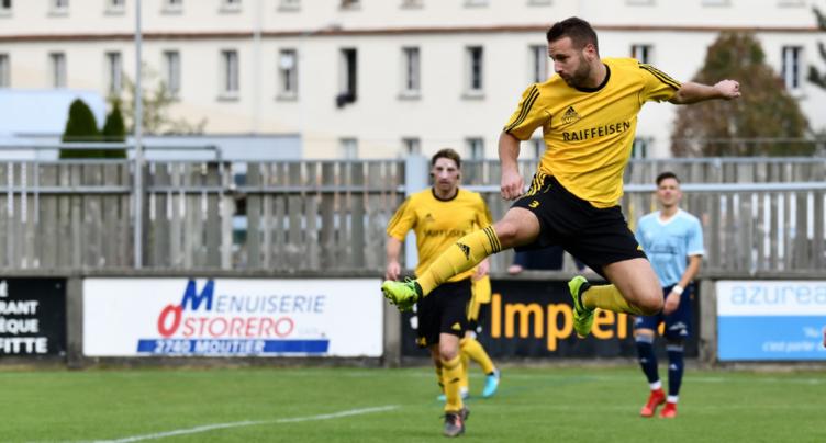 Fin de parcours en Coupe de Suisse pour le FC Cornol-La Baroche