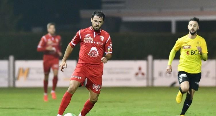 Le FC Bienne finit sur une mauvaise note