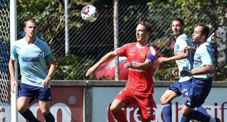 Tavannes/Tramelan prive Moutier de Coupe de Suisse