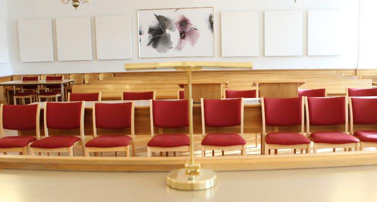 Le public n'est plus admis aux audiences du tribunal
